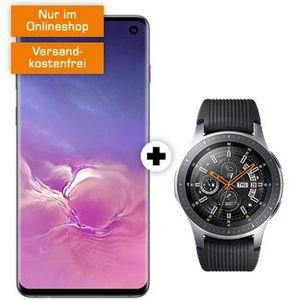 Galaxy S10 inkl. Galaxy Watch 46mm mit LTE für 49€ + LTE Flat mit 6GB LTE für 31,99€ mtl.