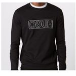 HUGO Herren-Sweatshirt Dicago-U6 in Schwarz für 48,52€ (statt 75€)