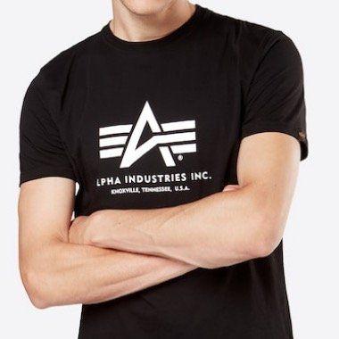 Alpha Industries Herren T Shirt in 2 Farben für 15,22€ (statt 20€)
