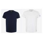 Ralph Lauren T-Shirt mit Label Print in Weiss, Blau oder Grau in Restgrößen für 23,31€ (statt 40€)