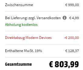 ASUS VivoBook S14 (S430UA EB081T) mit 14, i7, 16GB RAM, 256GB SSD, 1TB HDD in Gun Metal für 803,99€ (statt 1.004€)