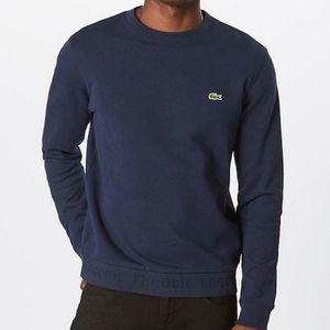 Lacoste Sweatshirt in Marineblau (100% Baumwolle) für 59,42€ (statt 83€)