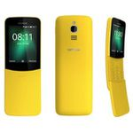 Matrix-Kulthandy Nokia 8110 4G (4GB, 512MB RAM) in Gelb für 39€ (statt 52€)
