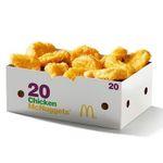 Chicken McNuggets 20er für 4,99€ (statt 8€) – oder Doppelburger je 1,99€
