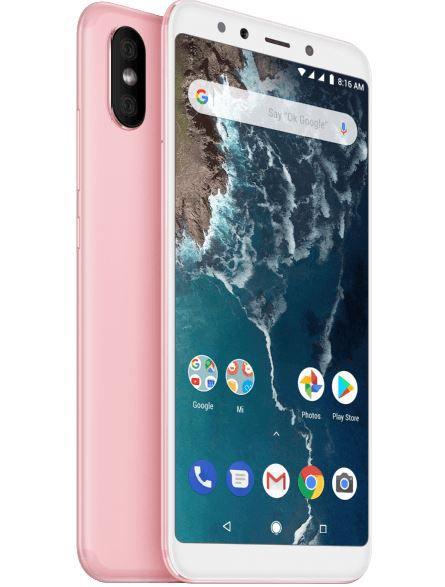 Media Markt & Saturn Smartphone Fieber z.B. XIAOMI Mi A2, Smartphone, 64 GB, Rosegold für 149€ (statt 165€)