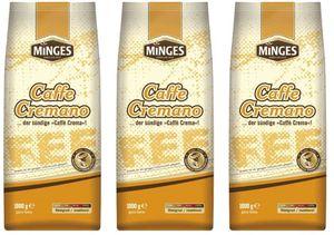 MINGES Kaffeebohnen   3 x 1kg ab 21,99€ (statt 33€)