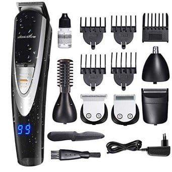 Migicshow Haarschneidemaschine 5in1 Wasserdicht für 20,99€ (statt 35€)