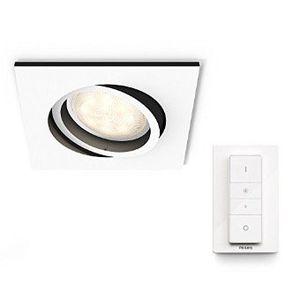 Philips Hue White Ambiance LED Einbauspot Milliskin und Dimmschalter (steuerbar via Alexa) für 33,24€ (statt 45€)