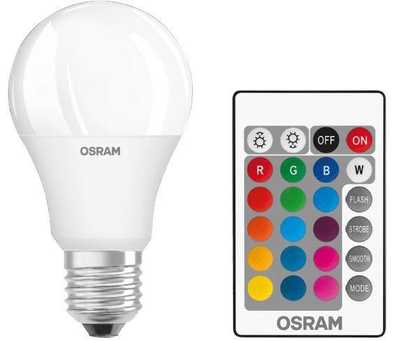 OSRAM 045675 LED Leuchtmittel Mehrfarbig mit Fernbedienung ab 6€ (statt 13€)