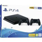 PlayStation 4 Slim 500GB inkl. 2x Controller für 229€ (statt 297€)