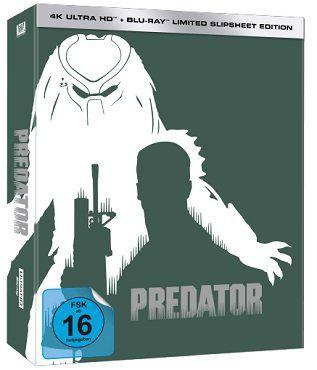 Predator (Limited Slipsheet Edition) nummeriert auf 444 Stück als 4K Blu ray für 39€ (statt 56€)