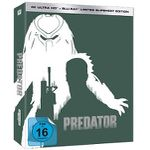 Predator (Limited Slipsheet Edition) nummeriert auf 444 Stück als 4K Blu-ray für 37,99€ (statt 70€)