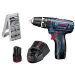 Bosch Professional Akku-Bohrschrauber inkl. Zubehör, 2 Akkus und Koffer ab 94,99€ (statt 109€)