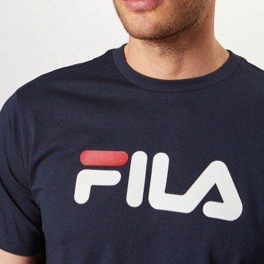 Fila Pure Herren T Shirt in Blau für 16,25€ (statt 23€)