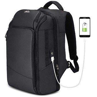 """Rucksack 26L Wasserdicht mit 15,6"""" Notebook Fach und USB Ladeanschluss für 28,35€"""