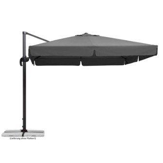 Schneider Sonnenschirm Rhodos in Anthrazit 300x300cm für 314,99€ (statt 369€)