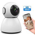 Sawake WLAN-Überwachungskamera 1080P (Nachtsicht, App Kontrolle) für 23,99€ (statt30€)