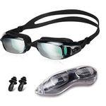 Snowledge Unisex-Schwimmbrille mit UV-Schutz, Nasenklammern und Ohrenstöpselsets für 8€ (statt 16€)