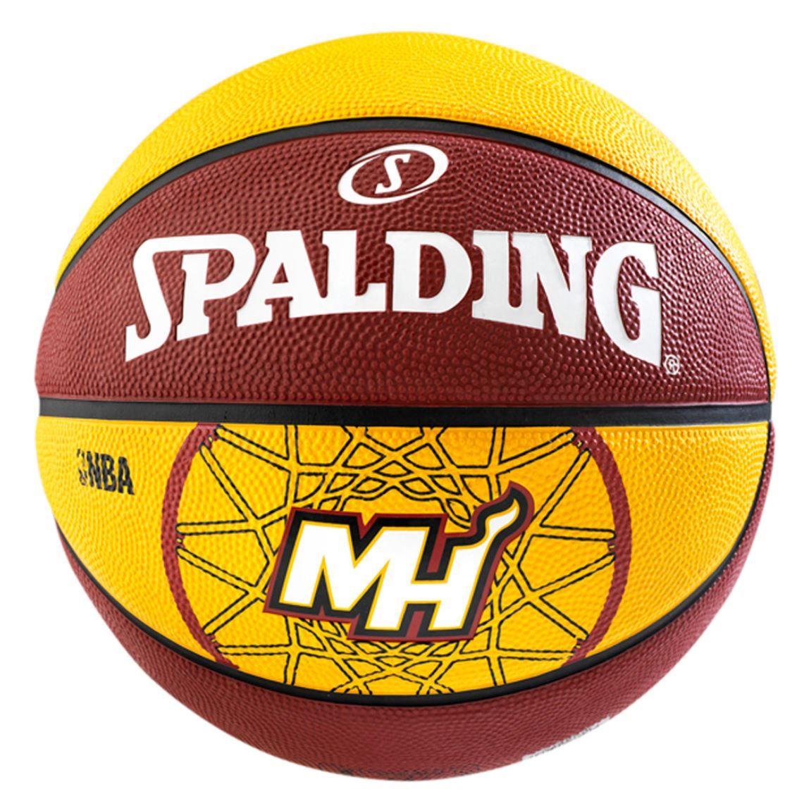 SportSpar mini Spalding Aktion   z.B. Miami Heat Basketball für 12,99€ (+VSK) statt 26€