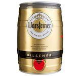 5 Liter Warsteiner Pils Fass ab 6,99€ (statt 17€) – Prime