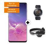 Galaxy S10 + Watch + AKG Kopfhörer für 79€ + Vodafone Allnet-Flat mit SMS und 6GB LTE für 36,99€mtl.