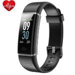 Yuanguo Fitness-Armband mit Pulsmesser und Schrittzähler Wasserdicht IP68 für 19,99€