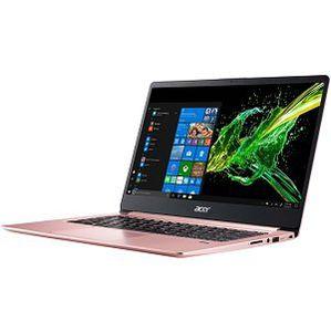 ACER Swift 1 (SF114 32 P5L1) Notebook mit 14, Pentium Silver Prozessor, 4GB RAM, 64GB eMMC in Rosé Gold für 349€ (statt 454€)