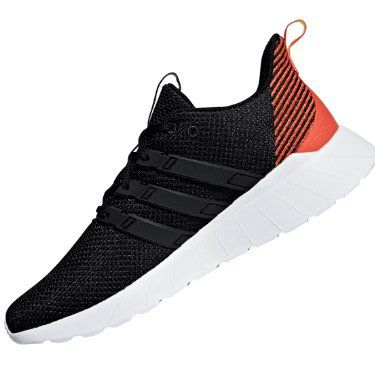 adidas Trainingsschuhe Questar Flow in Schwarz Rot in vielen Größen für 39,95€ (statt 52€)