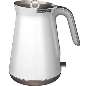 MORPHY RICHARDS 100003 Aspect Wasserkocher in Weiß für 39€ (statt 61€)