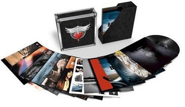 Bon Jovi   The Albums (Ltd. 24 LP Vinyl Boxset) für 170€ (statt 205€)