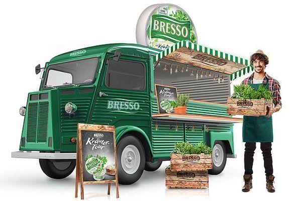 Bresso Käse kostenlos auf der Kräuter Tour probieren