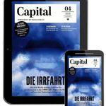 1 Jahr Capital Digital e-Paper für 70€ + 70€ Gutschein oder Scheck