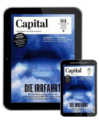 1 Jahr Capital Digital e Paper für 70€ + 70€ Gutschein oder Scheck