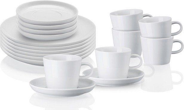 ARZBERG 42100 590003 2835 Cucina Basic ROK 18 tlg. Kaffeegeschirr Set für 39€ (statt 65€)