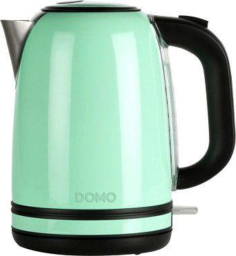 DOMO DO489WK Wasserkocher in Pastellgrün für 28€ (statt 43€)