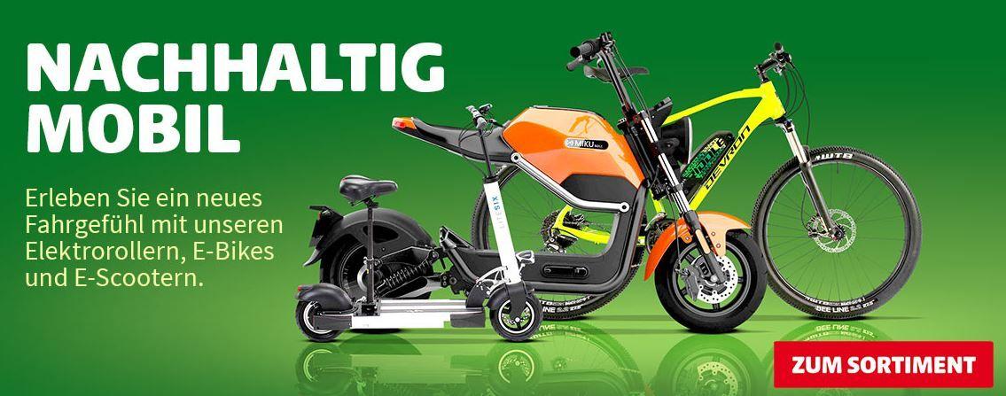 Hagebaumarkt mit 10% Rabatt auf (fast) Alles z.B. E Bike E3800 Dreirad 20 km/h für 1.341€ (statt 1.448€)