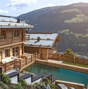 2 ÜN in 5* Luxus Chalets in Tirol inkl. Frühstück, Dinner, Bergsauna & Spa ab 214,50€ p.P.   bei 4 Personen