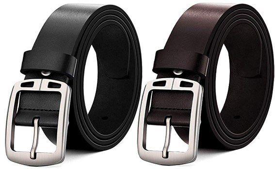 MUCO Herren Ledergürtel in vielen Größen in Schwarz oder Braun ab je 9,59€ – Prime