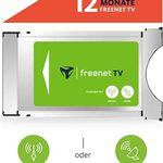 freenet TV CI+ TV Modul DVB-T2 HD und DVB-S Sat inkl. 12 Monate TV für 59,49€ (statt 81€)