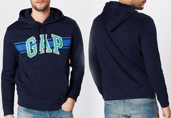 GAP Sweatshirt V GO ARCH STRIPE PO HD für 26,91€ (statt 35€)