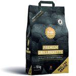 Die Kohle Manufaktur Premium Grillbriketts im 10 kg-Sack für 17€ (statt 22€)