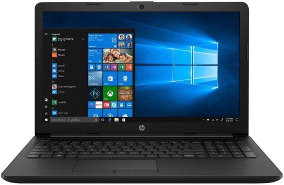 HP 15 da0359ng Notebook mit 15,6, i3, 4GB RAM, 256GB SSD für 333€ (statt 370€)