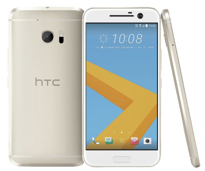 HTC 10   Android Smartphone in Gold für 149€ (statt 310)
