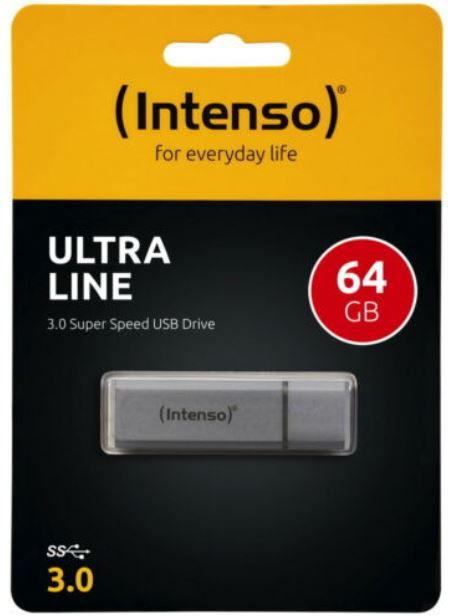 Intenso Ultra Line   64GB USB 3.0 Speicherstick für 8,49€ (statt 14€)
