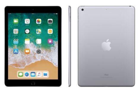 Apple iPad 9,7 128 GB WiFi (2018) für 355€ (statt 377€)