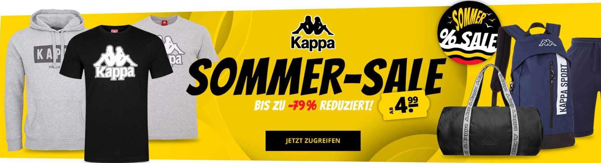 SportSpar kleiner KAPPA Sale bis 79% Rabatt