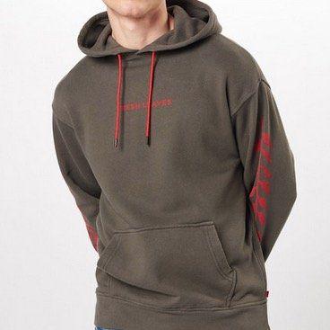 Levis Hoodie Pullover mit Print für 29,67€ (statt 45€)