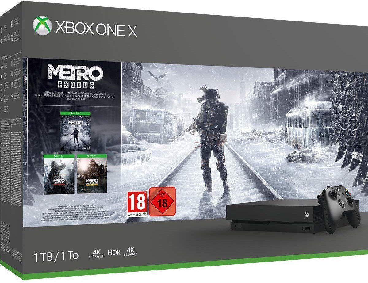Xbox One X Metro Exodus Bundle für 305€ (statt 328€)