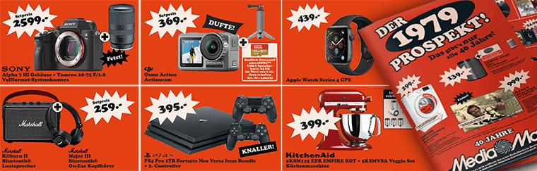 MediaMarkt Prospekt Aktion mit vielen Angeboten z.B. Sonos Play:1 + Google Home Mini für 139€ (statt 181€)