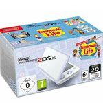 New Nintendo 2DS XL Weiß + Lavendel inkl. Tomodachi Life für 111€ (statt 139€)